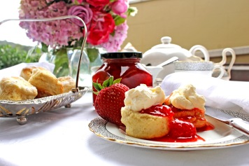 Cream tea at old bank hotel - 3