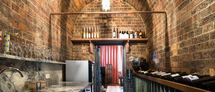 Vault - wine cellar