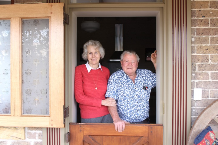 Warwick and Barbara Wainberg - owners -4