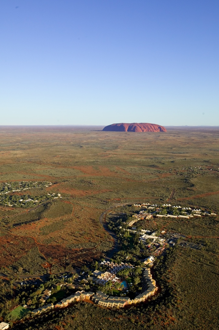 Ayers Rock Resort Aerial