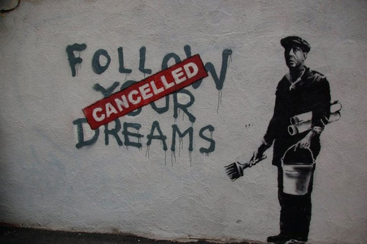 banksy-follow-your-dreams