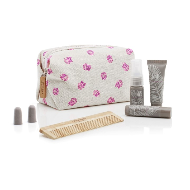 Extra Comfort personal amenities kit